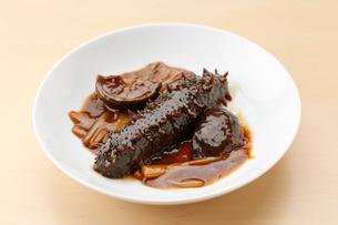 なまこ料理の写真素材 [FYI02723183]