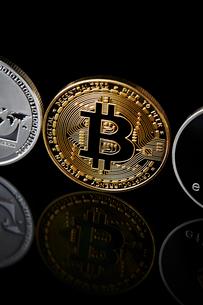 仮想通貨の写真素材 [FYI02723664]
