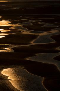 干潮の新舞子干潟の写真素材 [FYI02723703]