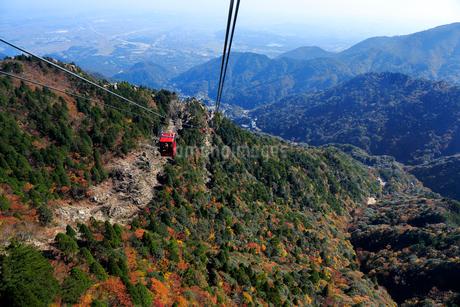 三重県 御在所岳の紅葉の写真素材 [FYI02724344]