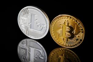 仮想通貨の写真素材 [FYI02724704]