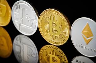 仮想通貨の写真素材 [FYI02724723]