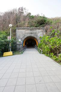旗津星空隧道の写真素材 [FYI02725001]