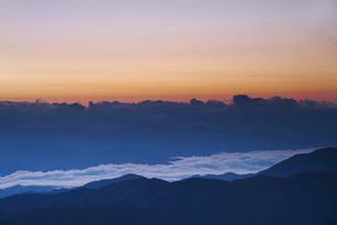 南アルプスの朝の写真素材 [FYI02725708]