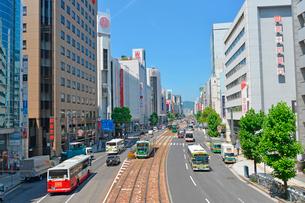 広島市相生通りの街並みの写真素材 [FYI02725858]