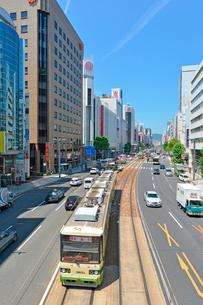 広島市相生通りの街並みの写真素材 [FYI02725939]