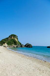 ムルク浜 沖縄県の写真素材 [FYI02728305]
