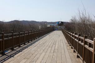 臨津閣の自由の橋の写真素材 [FYI02738129]