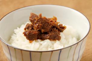 エゾ鹿しぐれ煮の写真素材 [FYI02738131]