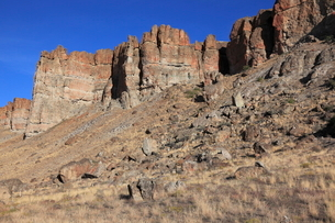 ジョン・デイ化石層国定公園のクラーノ・ユニットの写真素材 [FYI02738156]