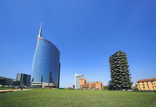 ポルタ・ヌォーヴァ地区の高層ビル群の写真素材 [FYI02738196]
