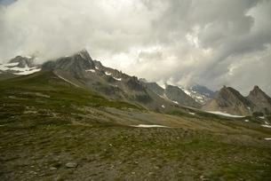 セーニュのコル(Col de La Seigne)の写真素材 [FYI02738199]