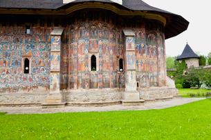 モルドヴィツァ修道院の写真素材 [FYI02738430]