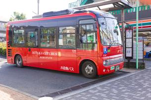 みたかシティバスの写真素材 [FYI02738439]