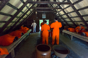 博物館網走監獄の休泊所の写真素材 [FYI02738632]