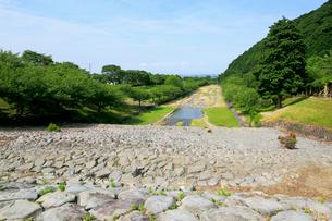 羽根谷砂防えん堤の写真素材 [FYI02738716]