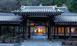 12月 冬の城崎温泉の写真素材 [FYI02738854]