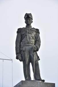 ウドムサーク海軍提督銅像の写真素材 [FYI02738885]