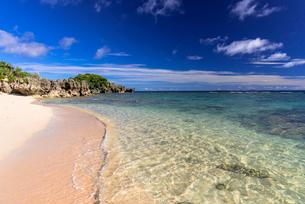 古宇利島のピース浜の写真素材 [FYI02738961]