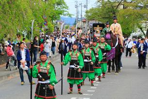 春の藤原祭りの写真素材 [FYI02739016]