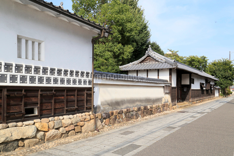 亀山宿 加藤家屋敷跡の写真素材 [FYI02739026]