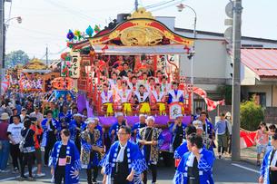 日高火防祭りの写真素材 [FYI02739039]