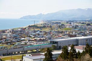 薬師山から見る新幹線の写真素材 [FYI02739231]