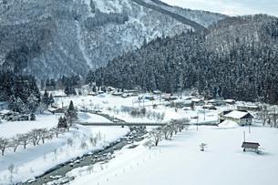 冬の本道寺地区の写真素材 [FYI02739308]