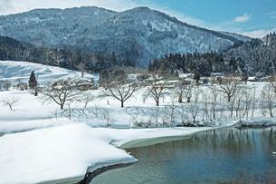 冬の本道寺地区の写真素材 [FYI02739313]