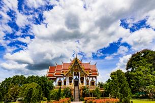 Wat Phrathat Bangphuan, Nong khai, Thailandの写真素材 [FYI02739363]