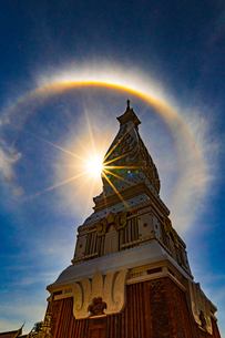 Wat Phra That Phanom, Nakhon Phanom, Thailandの写真素材 [FYI02739388]