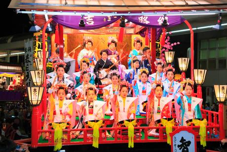 日高火防祭りの写真素材 [FYI02739415]