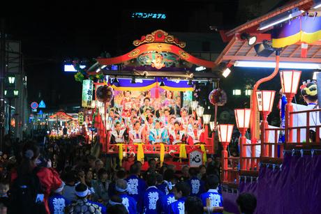 日高火防祭りの写真素材 [FYI02739513]