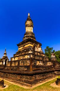 タイ スコータイ シーサッチャナーライ歴史公園の写真素材 [FYI02739527]