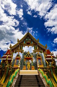 Wat Phrathat Bangphuan, Nong khai, Thailandの写真素材 [FYI02739551]