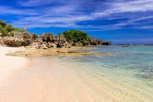 古宇利島のピース浜の写真素材 [FYI02739575]