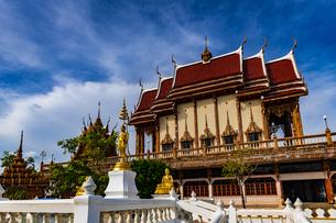 タイ  コラート ワット・バンライの写真素材 [FYI02739666]