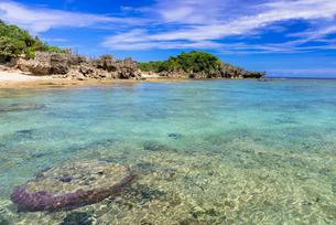 古宇利島のピース浜の写真素材 [FYI02739672]