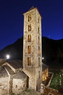 Santa Eulalia Church, Erill la Vall, Vall de Boi, Cataloniaの写真素材 [FYI02739793]