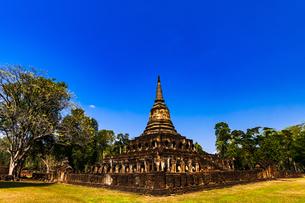 タイ スコータイ シーサッチャナーライ歴史公園の写真素材 [FYI02739859]