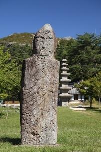 Buddha statue, Unjusa Temple, Jeollanam-do, Koreaの写真素材 [FYI02739867]