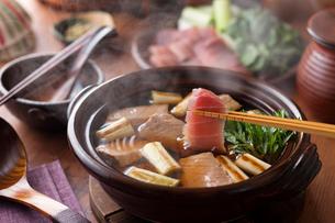 葱鮪鍋 / ねぎま鍋の写真素材 [FYI02739924]