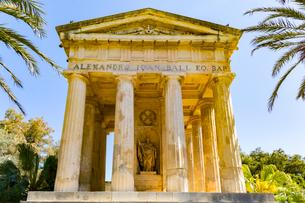 ローワーバラッカガーデン,アレクサンダーボールの記念碑の写真素材 [FYI02739949]