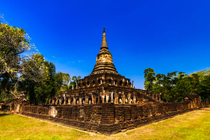 タイ スコータイ シーサッチャナーライ歴史公園の写真素材 [FYI02740026]