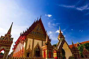 Wat Si Thep Pradittharam, Nakhon Phanom, Thailandの写真素材 [FYI02740124]