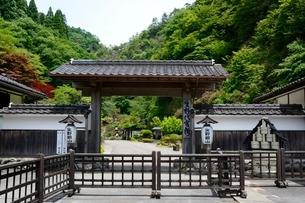 史跡,生野銀山,生野代官所入口の写真素材 [FYI02740337]