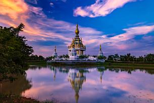 タイ  ワット・トゥンセッティの写真素材 [FYI02740447]