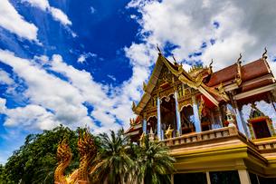 Wat Phrathat Bangphuan, Nong khai, Thailandの写真素材 [FYI02740497]