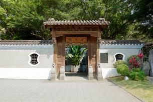 台湾 国立故宮博物院 至善園の写真素材 [FYI02740526]