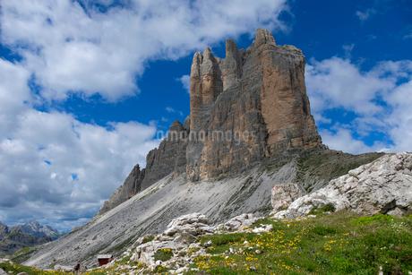 ドロミテの風景の写真素材 [FYI02740639]